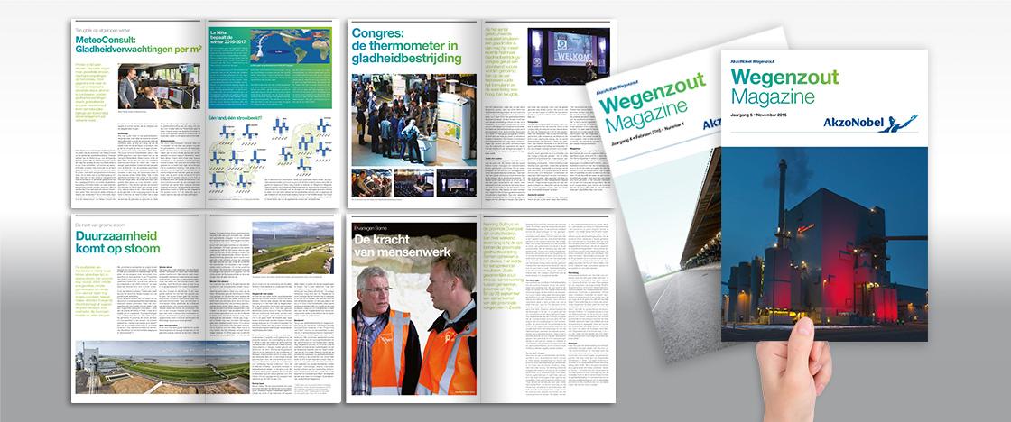 TTF - Project Akzo Wegenzout magazine
