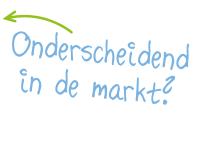Onderscheidend in de markt