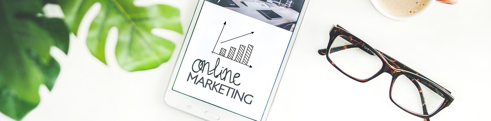 Tablet online marketing